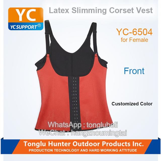 Custom body shaper building slimming camisole women neoprene vest