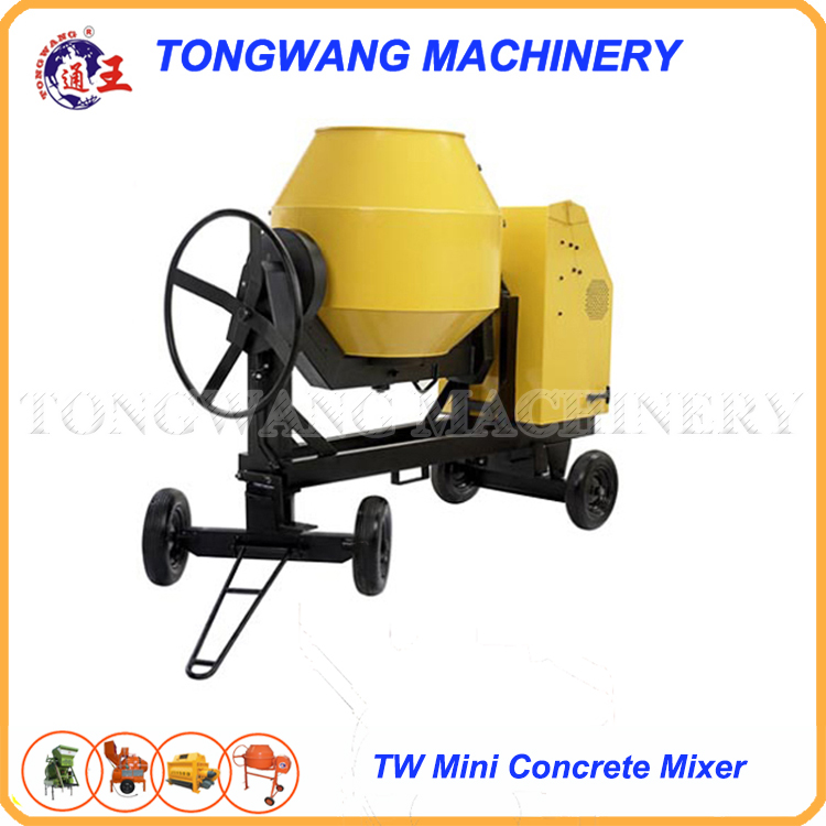 TW160 stainless steel mobile cement mixer machine