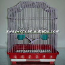 UW-PT-002 Durable red wire parrot cages for trainning need