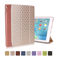 "Manufactory Smart Magnetic Flip Cover Leather Star Printing Case for iPad Pro 9.7"" for Apple Pro 9.7"" Tablet"