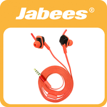 Jabees stylish in-ear sweatproof wired super bass stereo headset with mic for mp3 player