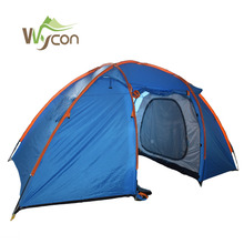 Waterproof portable big living camping tent outdoor for family