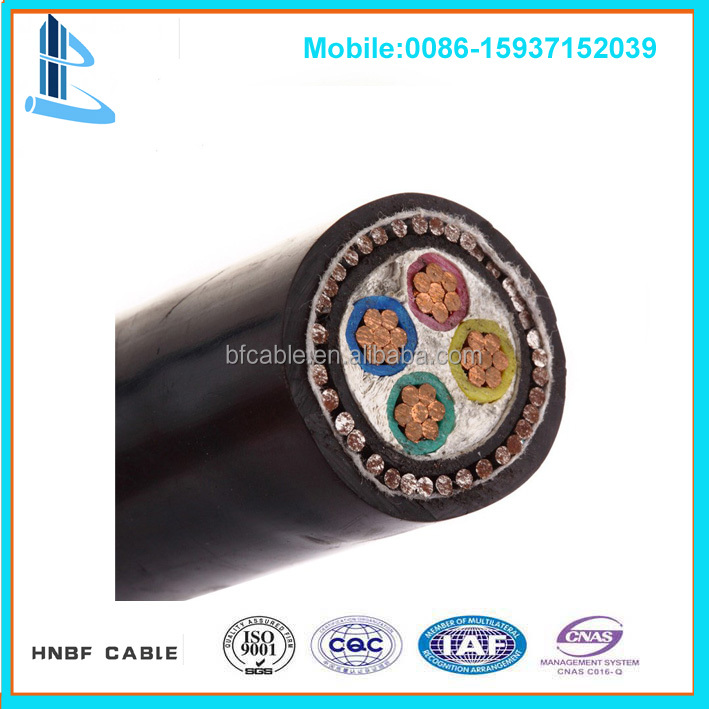 Low Voltage pvc insulated price 25mm electric cable LV Cables