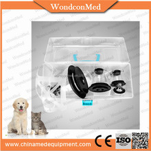 Polycarbonate oxygen therapy dog facial masks for pet clinic