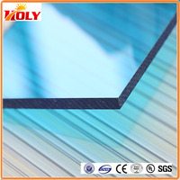 China manufacturer Lightweight colored polycarbonate greenhouse panels for indoor decorative ceiling roof