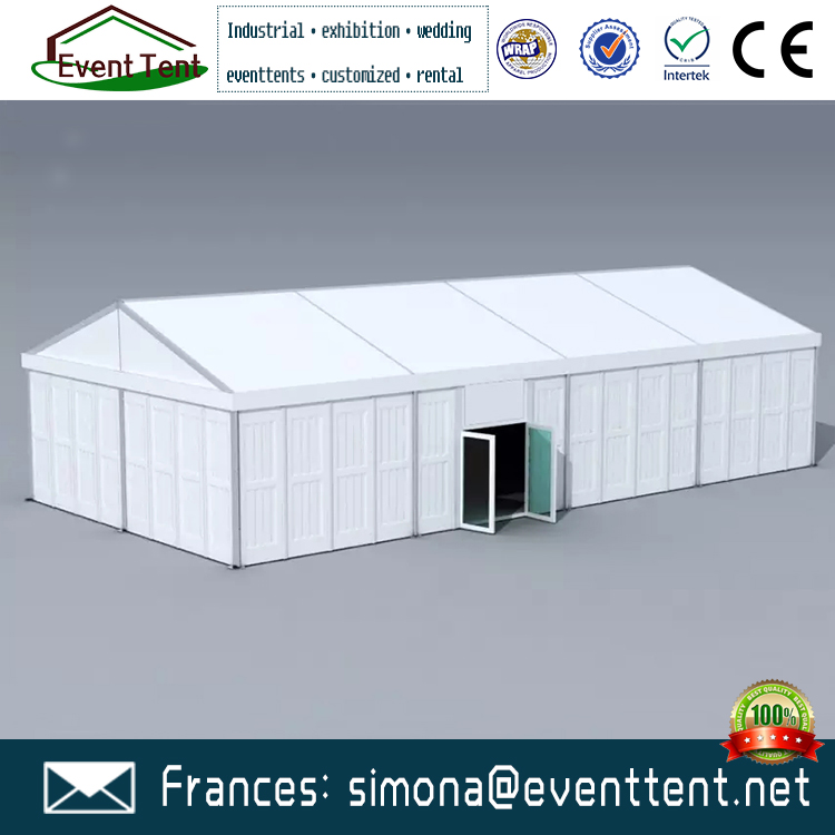 High Quality 500 seater PVC polyester Tent Waterproof ABS Solid Wall Tent For Sale Saudi Arabia