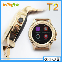 smart phone all back stainless steel watch with good quality