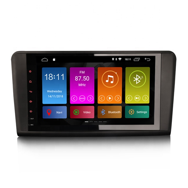 Erisin ES2894L 9&quot; <strong>Android</strong> 8.1 4G WiFi DAB TPMS GPS car radio dvd player for Benz <strong>w164</strong> x164
