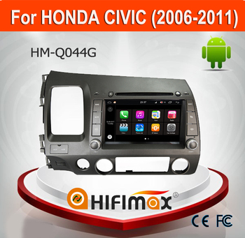 HIFIMAX Android 7.1 Car DVD For Honda Civic 2006-2011 Touch Screen Car DVD Player For Honda Civic 2007 2011 With map 2G RAM