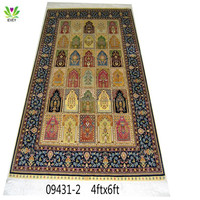 Top-selling manufacturer hand-knotted kinds of size carpet custom silk rugs