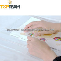 PVC Clear Plastic Self-adhesive Book Cover,Adhesive Book Cover Sheets