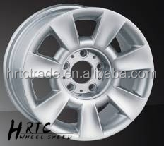 HRTC chrome alloy wheel car wheels hyper sliver wheels 15 inch for BMW