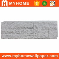 Anti-UV polyurethane exterior Imitated artificial stone pu decorative wall panel with good weatherability