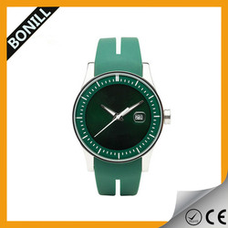 Cheap custom silicone rubber wristband watch silicone strap/band watch