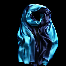 women silk long satin hijabs scarf