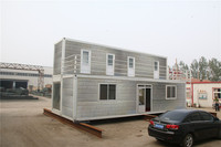 eps prefabricated modular portable stackable cheap soundproof 40ft Trade Assurance container home