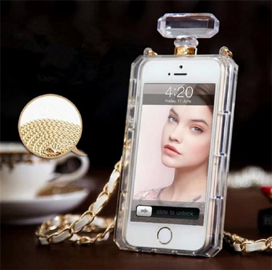 Perfume bottle shape tpu mobile phone case for iphone 6