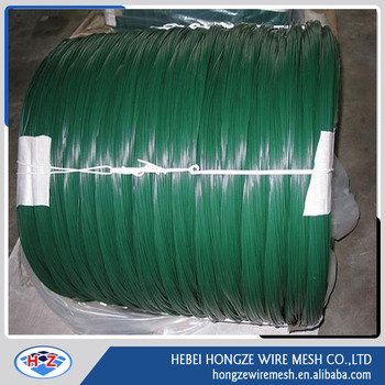 pvc coated tie wire/plastic coated twist tie wire