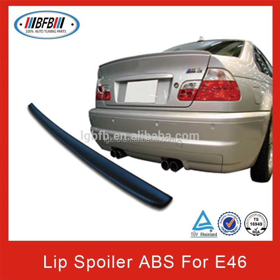 2 door M3 type ABS lip spoiler for BMW E46 Coupe