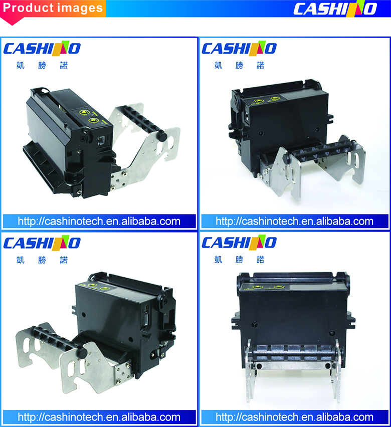 Self-service Payment Cash Acceptor Ticketing Kiosk printer