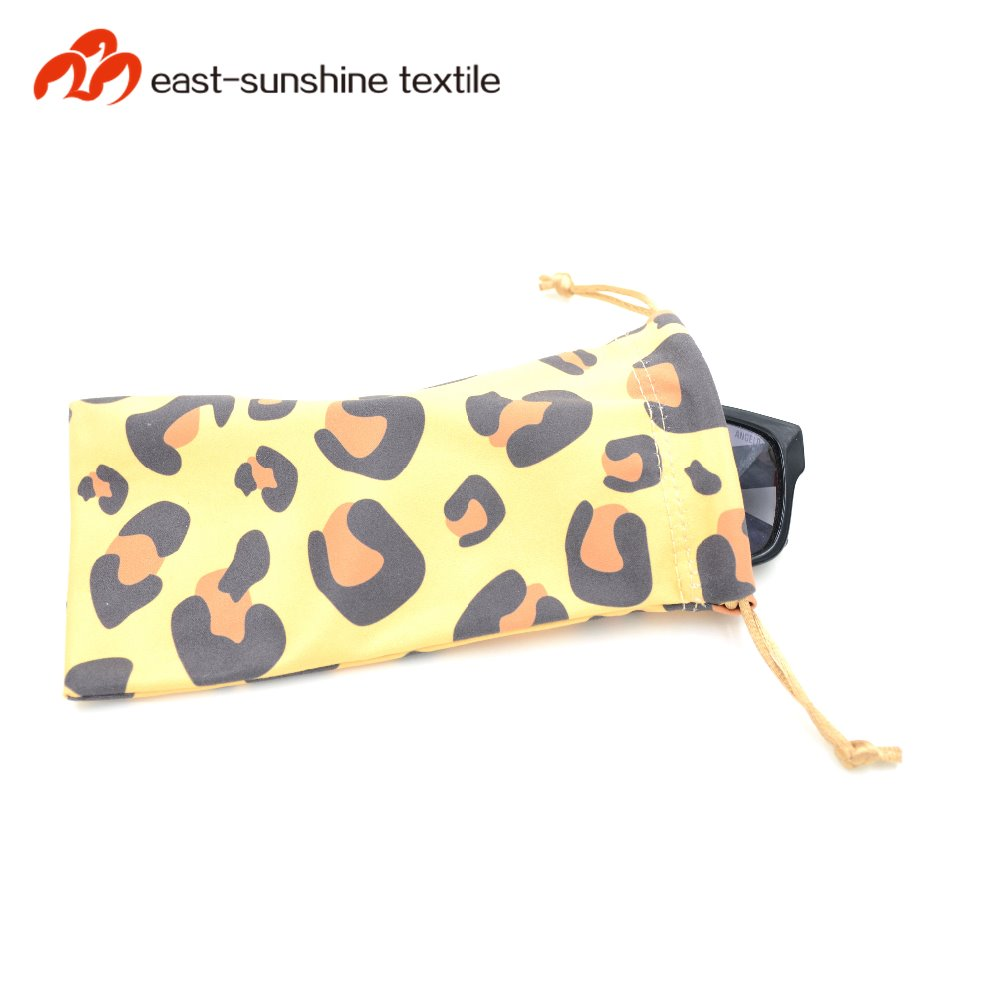 Wholesale eyeglasses cleaning cloth and pouch bag microfiber