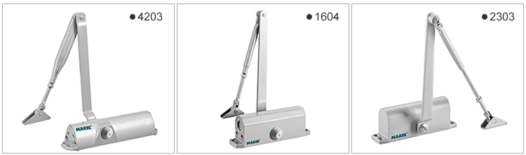 Aluminum Alloy Automatic Hydraulic Commercial remote control electric Door Closer