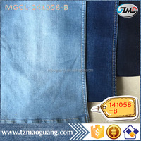 Zhejiang High quality hot sale 1/3 Twill polyester Cotton Spandex jeans fabric