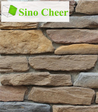 Hot sale artificial stone panels, artificial rock decoration, villa wall stone