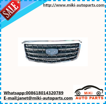 chinese car chrome front grille for geely emgrand EC8 2013 auto spare parts