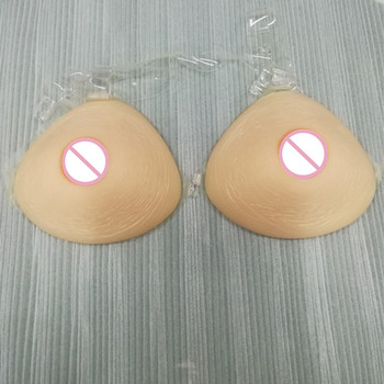 ONEFENG Silicone False Breast Realistic Artificial Triangular Shape Big Boobs Crossdresser Who Love Big Chest 2000g/pair