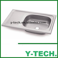 Economic item for middle east new products 2015 innovative product stainless steel kitchen sink YK 7344BR