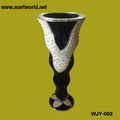 2018 New design resin column wedding decoration;Decorative resin wedding vase(WJY-002)