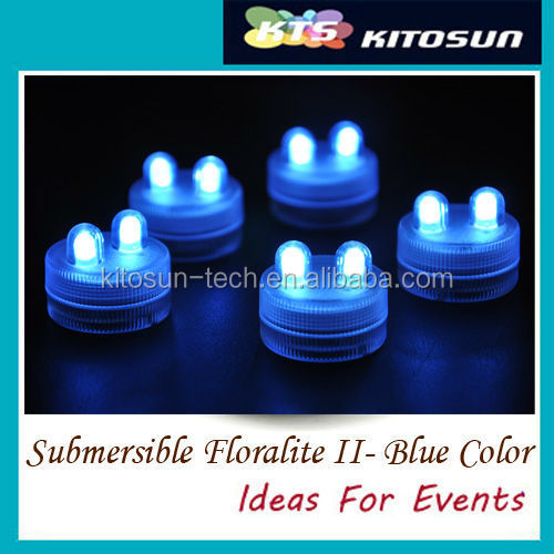 11colors Available Led Outdoor Decorations Mini Submerible Party Electric Candle Lights