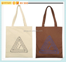 made in China custom wholesale canvas cotton recycled tote bag