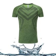Wonderful breathable quick dry sports plain wholesale close-fitting t shirt for <strong>men</strong>
