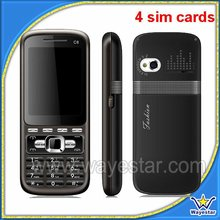 4 SIM China Mobile Phone C8