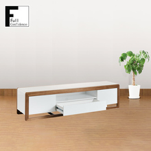 White High Gloss TV Stand New Model TV Cabinet with Showcase