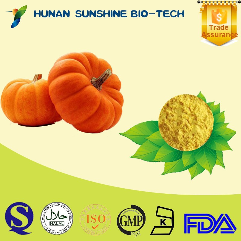 Alibaba China 100% Natual Organic Pumpkin Dried Vegetable Powder as Food Additives
