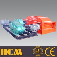 various productivity double roller rock breaking machines plant 120tph stone crushing line production