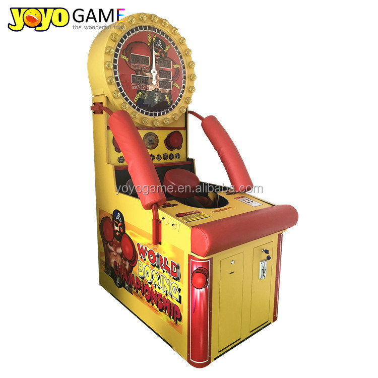 Boxing machine big Punch Out pugilism arcade game for sale