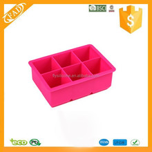 Personalized Food grade King Nonstick Silicone Custom ice cube tray