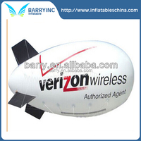 2016 China barry Inflatable advertising blimps, airship for advertising for rental