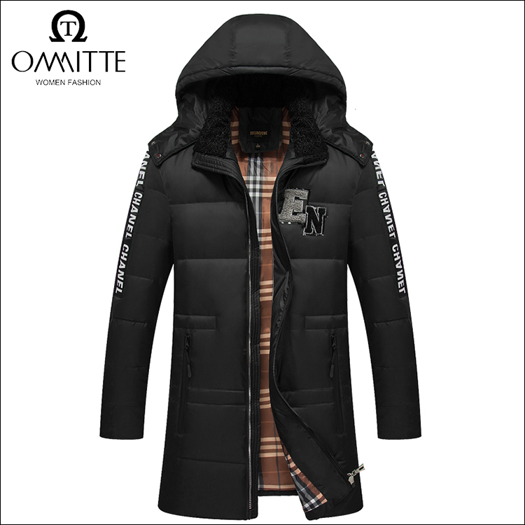 Provide OEM service thick hood mens quilted jacket warm men clothes winter