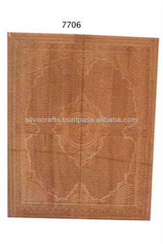 Royal Indian Rajasthani Jodhpur Hand Carved Teak Wooden Door Panels & Door Sets (Carved Furnitures by Classic Silvocraft