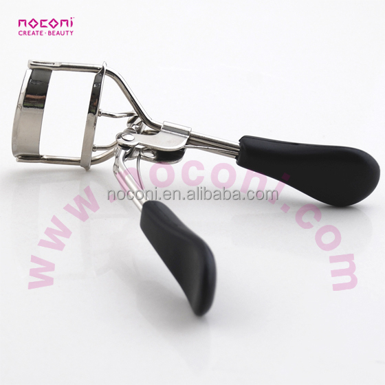 Perfect metal black eyelash curler/beauty make-up tools private label Stainless steel eyelash curler