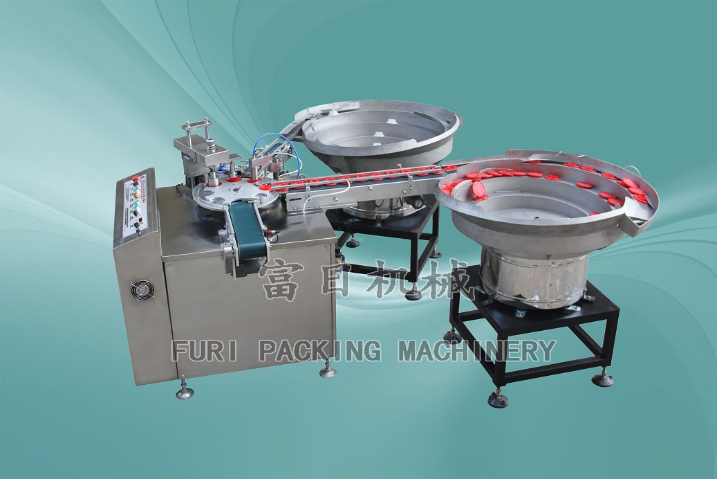 Automatic oil cap assembly machine