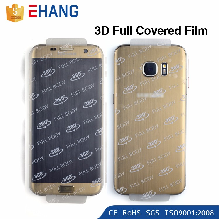 2016 trending products 3D cover high clear full screen protector for samsung galaxy j6 price