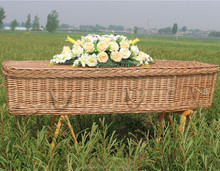 wicker coffins and caskets
