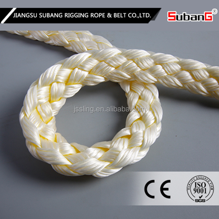 Double braid nylon dock line for boat mooring rope cheapist price