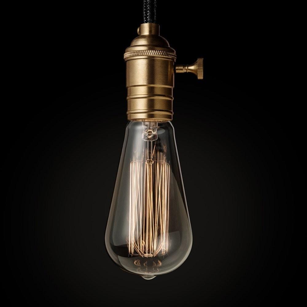 interior decoration e27 vintage edison light bulb 40w. Black Bedroom Furniture Sets. Home Design Ideas